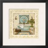 Spa Vacation II Print by Charlene Winter Olson