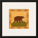 Folk Bear Prints by Warren Kimble