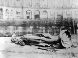 Toppled Statue of Napoleon in the Place Vendôme, 1871 Photographic Print