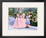 The Wizard of Oz: Glitter Glinda Art