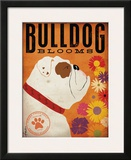Bulldog Blooms Art by Stephen Fowler