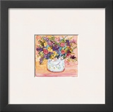 French Pot Prints by Dawna Barton