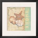 Sea Shore Print by Pamela Desgrosellier
