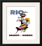 Braniff International Airways, Rio Prints