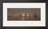 Gloucester, Mackerel Fleet at Dawn, c.1884 Prints by Winslow Homer