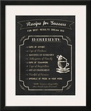 Recipe for Success Posters by Jennifer Pugh