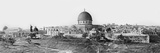 Panorama of Jerusalem, 1865 Photographic Print by Sgt. James McDonald