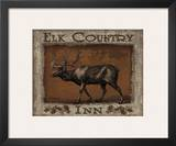 Elk Country Print by Todd Williams
