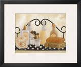 Bath Shelf II Print by Kay Lamb Shannon
