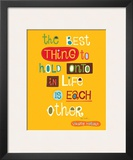 The Best Thing Prints by Helen Dardik