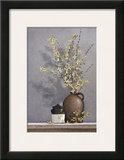 Forsythia Framed Giclee Print by Ray Hendershot