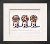 Three Machines, 1963 Art by Wayne Thiebaud