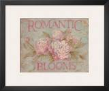 Romantic Blooms Posters by Debi Coules