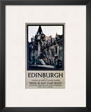 Edinburgh, LNER, c.1923-1947 Prints by Fred Taylor