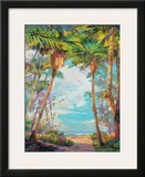 Path to Paradise I Prints by Rick Delanty