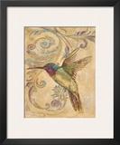 Hummingbird II Prints by Patricia Quintero-Pinto