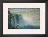 Blue Niagara, c.1884 Print by George Inness