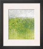 Mist on Green Framed Giclee Print by Jessica Torrant