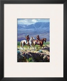 Scouts In Rough Country Prints by Martin Grelle