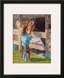 Morning Chores Prints by June Dudley