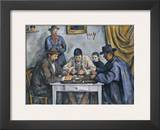 The Card Players, 1890-1892 Print by Paul Cézanne