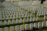 British Ww1 Mass Cemetery at Tyne Cot, Flanders Photographic Print