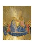 The Coronation of the Virgin, C.1440 Giclée-Druck von  Fra Angelico