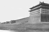 North and East Corner of the Wall of Peking, 1860 Photographic Print by Felice Beato