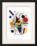 Le Chanteur Poster by Joan Miró