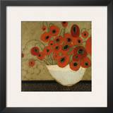 Frida's Poppies Prints by Karen Tusinski