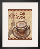 Paris Cafe Art by Todd Williams