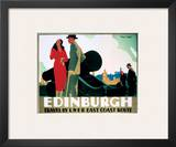 Edinburgh Couple by Cannon Posters