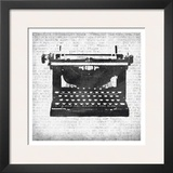 Typewritter Prints by Kristin Emery