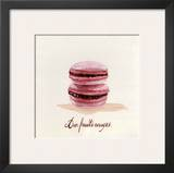 Macaron aux Fruits Rouges Art by Pascal Cessou
