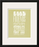 Good Friends Are Like Stars Posters