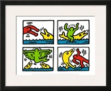 Pop Shop V Prints by Keith Haring