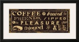 Coffee Quote IV Art