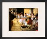 Ballet Rehearsal Prints by Edgar Degas