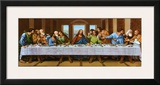 Last Supper Print by  Tobey