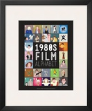 1980s Film Alphabet - A to Z Prints by Stephen Wildish