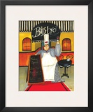 Bistro Prints by Jennifer Garant