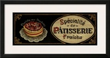 Patisserie Poster by Gregory Gorham