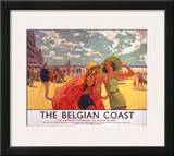 The Belgian Coast, SR/LNER, c.1930s Print