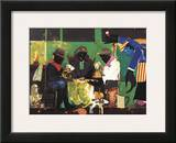 Card Players, c.1982 Prints by Romare Bearden