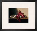 The Red Shoes Prints by Deborah Bays