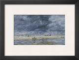 Figures on the Beach Prints by Eugène Boudin