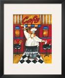Café Posters by Jennifer Garant