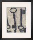 Parisian Keys I Posters by Marc Olivier