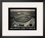 New York Jets New Meadowlands Stadium Inaugural Season Sports Print