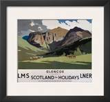 Glencoe, LMS/LNER, c.1923-1947 Poster